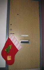 Strumpan på dörrhandtaget