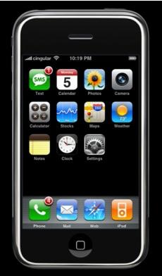 iPhone - Snygg design men gammal teknik