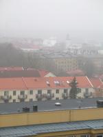 Dimma över Göteborg