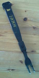 Elektronisk grillgaffel med inbyggd termometer
