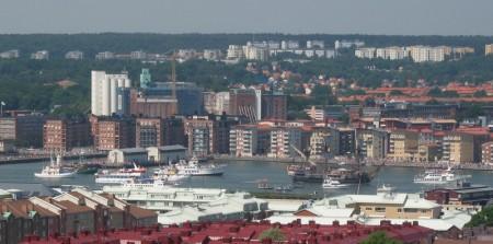 Ostindiefararen Götheborg anländer till Göteborg