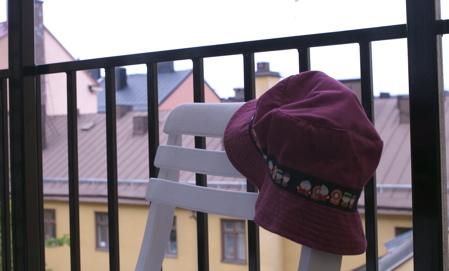 Hatten - Balkongfrukost