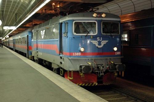 Tåget 12:44 från Stockholm