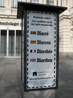 Diarré - Diarrea - Diarrhée - Diarrhea