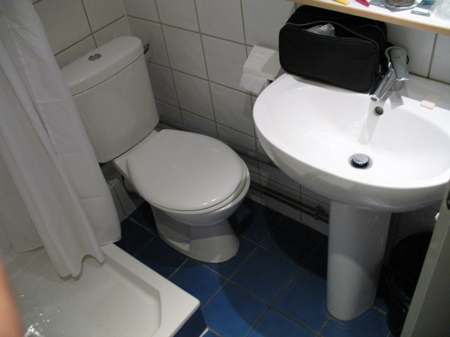 Franskt badrum