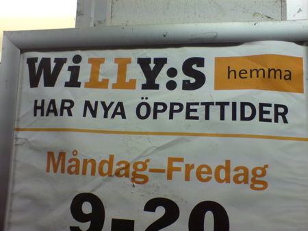 Willys Hemma - Eller är det Willys Hemska?