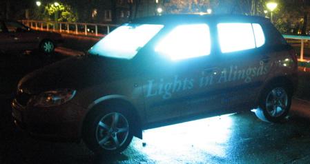 Lights in Alingsås - Knäppt eller bara konstigt?