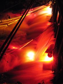 Lights in Alingsås - Vatten, eller kanske gelatin - och så ljus förstås