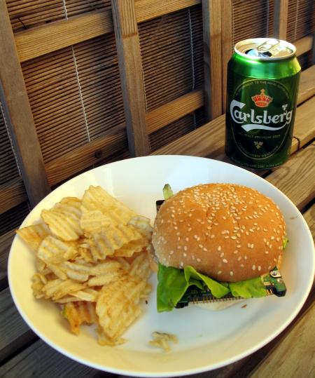 Serveringstips: Pommes frites och bärs