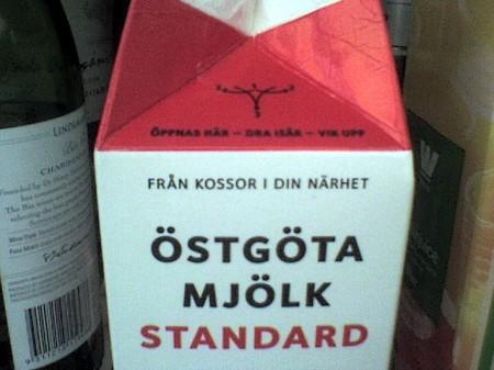 Östgöta mjölk – standard