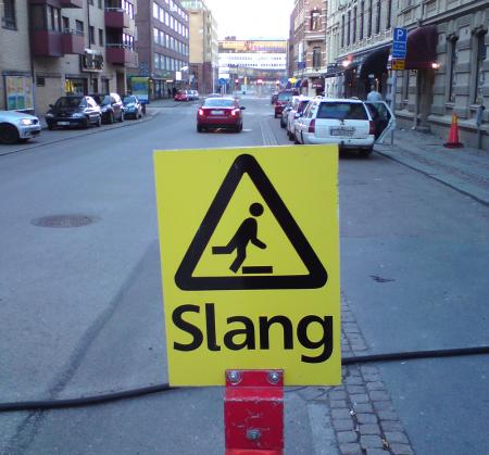 Varning för slang!