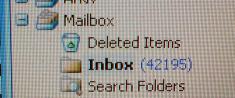 Inbox: 42195 olästa