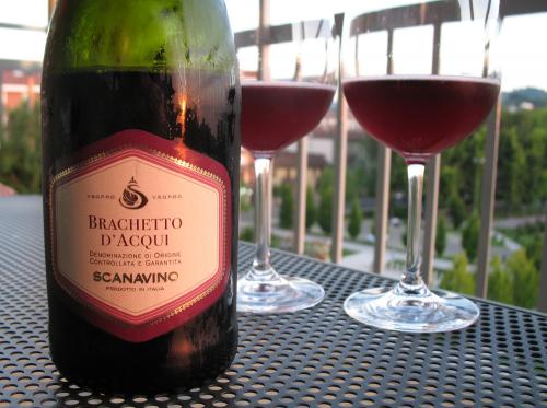 Brachetto d'acqui - rött, sött bubbel