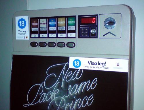 "Cigarettautomat: ""Visa leg..."""