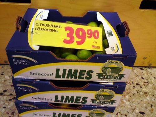 Citrus-/limeförvaring: 39,90