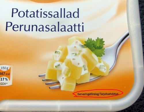Potatissallad: Serveringsförslag - syrransgranne.se